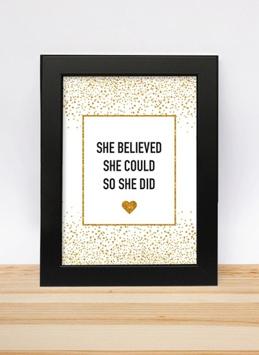 She Believed 13-18cm-Decarthome